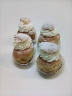 Mini choux vanille chantilly