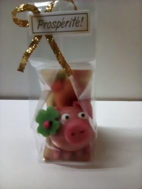 Cochon porte bonheur